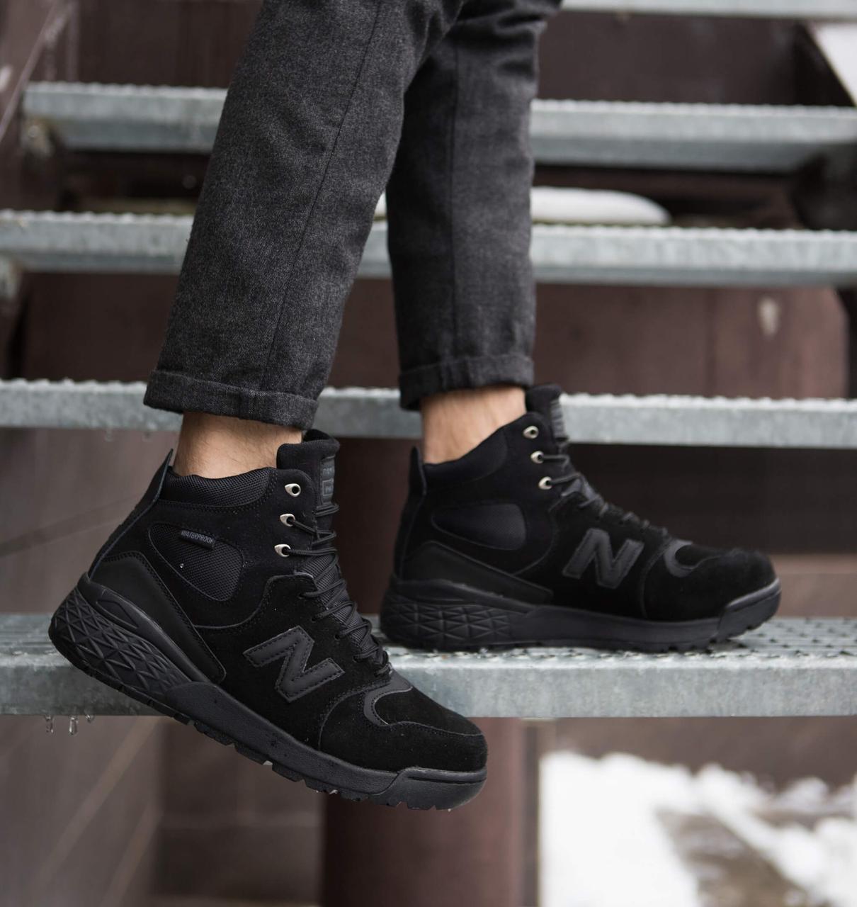 Мужские ботинки Парадокс Pobedov (черные)