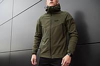 Мужская куртка Soft Shell Pobedov (хаки)