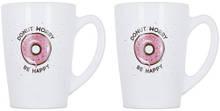 Набор кружек 2 шт 320 мл New Morning Donut Worry Luminarc P5150
