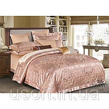Комплект  постельного белья сатин жаккард Тиара семейный размер 1743