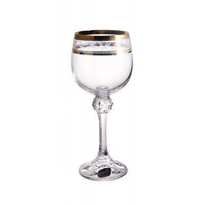 Набір келихів для шампанського 190 мл 6 шт Julia Bohemia 40428/43081/190