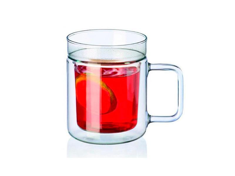 Скляні чашки з подвійною стінкою Simax Twin 200мл 2шт