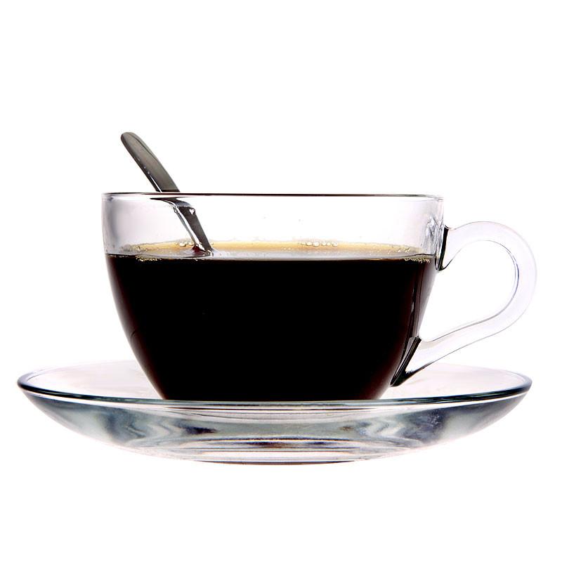 Стеклянная чайная пара Pasabahce Basic 200мл 2пр