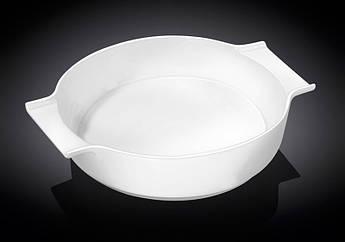 Керамическая форма для запекания Wilmax круглая 25.5х21.5х5.5см 1,3л