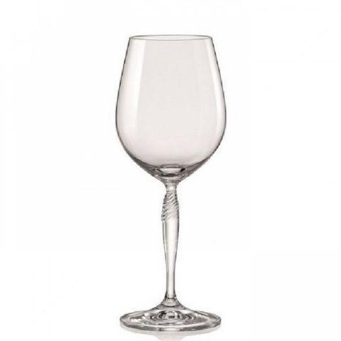 Набір келихів для вина 340 мл 6 шт Keira Bohemia 40837/340