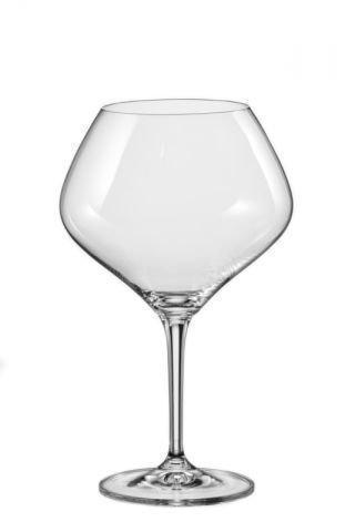Набір келихів для вина 470 мл 2 шт Amoroso Bohemia 40651/470/2