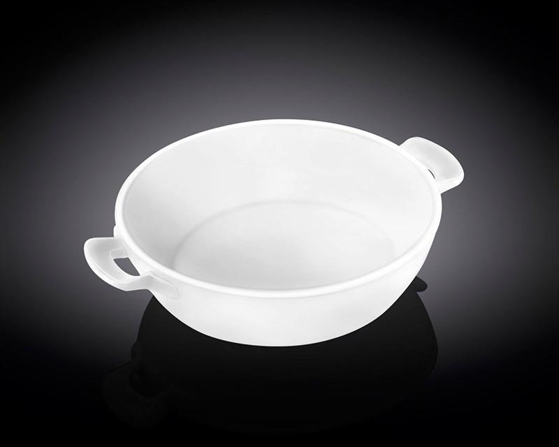 Круглая керамическая форма для запекания Wilmax 25.5х20.5х6см 1л