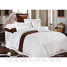 Комплект  постельного белья сатин жаккард Тиара семейный размер 1908
