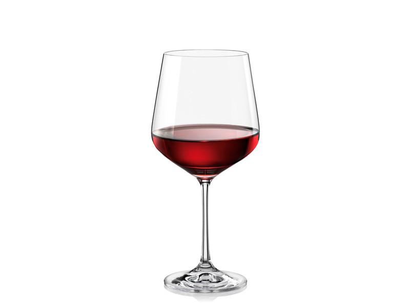 Бокалы для вина Bohemia Sandra 570 мл 6 шт Богемия Сандра