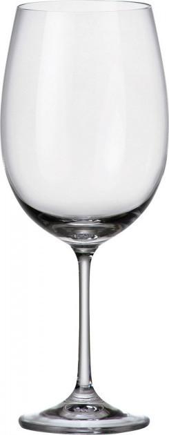 Набір келихів для вина 640 мл 6 шт Barbara Milvus Bohemia 1SD22/640