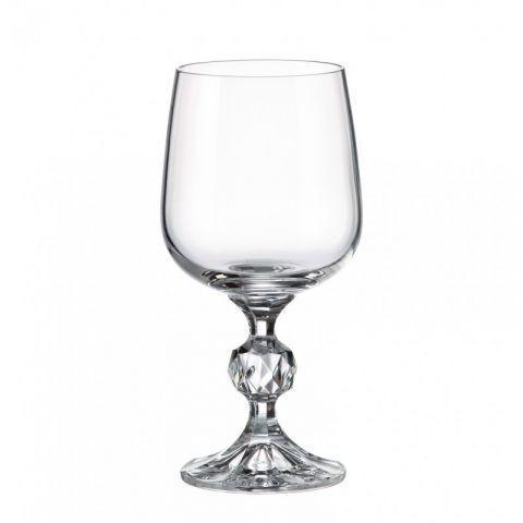 Набір келихів для вина Bohemia Sterna Klaudie 4S149/230 6 шт 230 мл