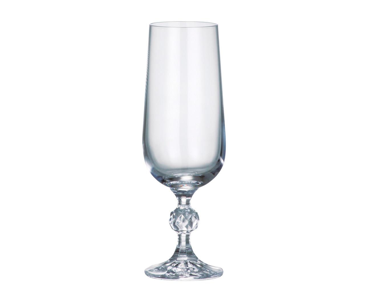 Bohemia Claudia Бокалы для шампанского 180 мл 6 шт Богемия Клаудия