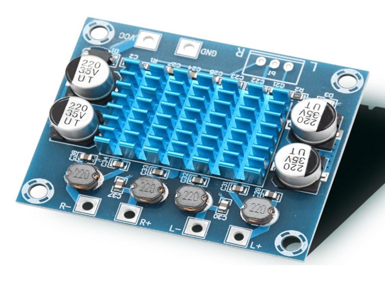 Аудіо підсилювач XH-A232 TPA3110 2х30Вт 8-26В 3А стерео, плата