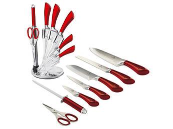Кухонные ножи в прозрачной подставке Berlinger Haus 8пр