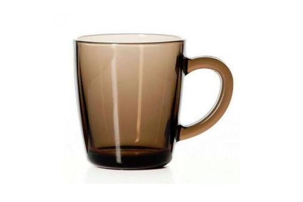 Дымчастая скляна чашка Pasabahce Bronze 350мл