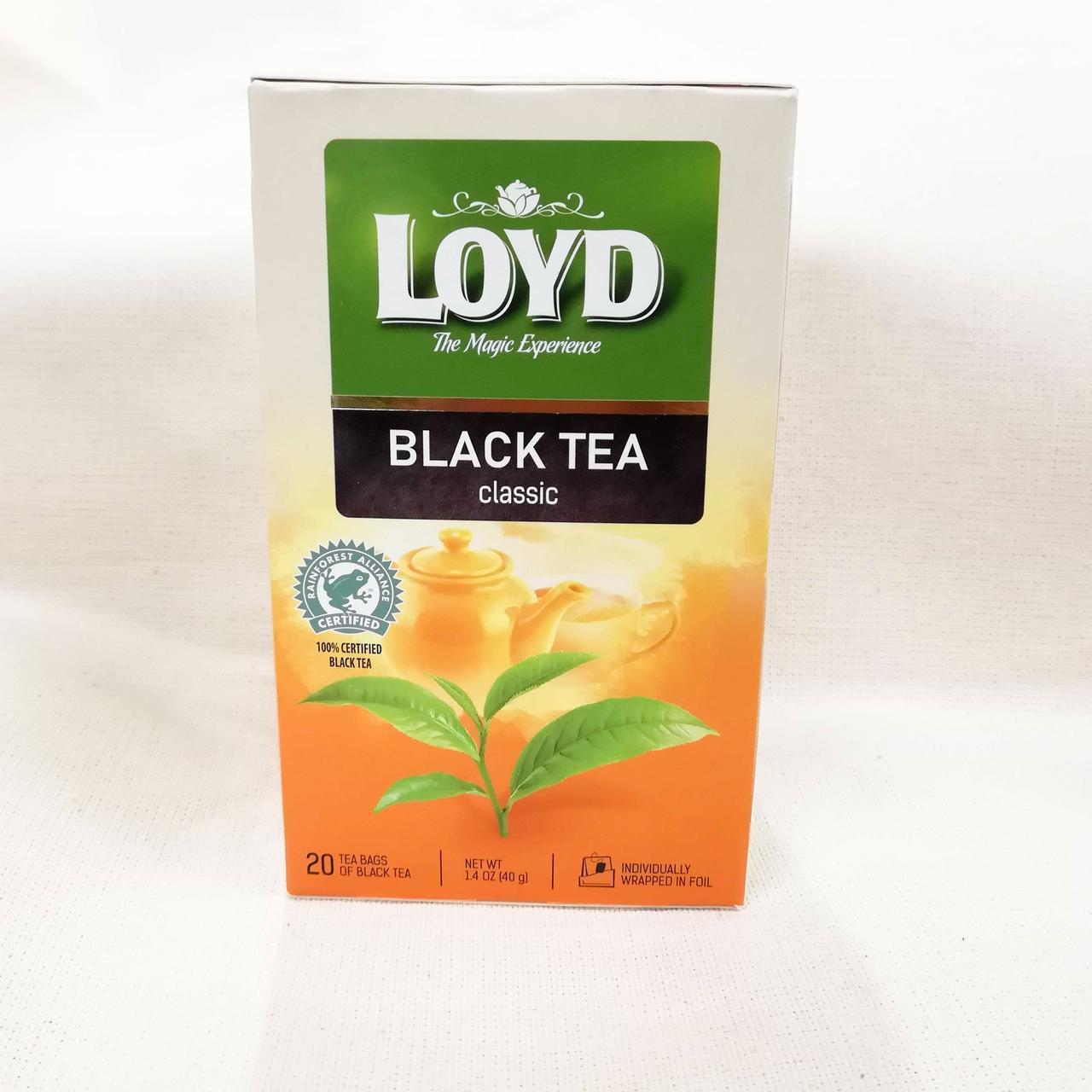 Чай LOYD Black Tea