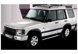 Дефлекторы на боковые стекла (Ветровики) для Land Rover (Лэнд Ровер) Discovery II 1998-2004