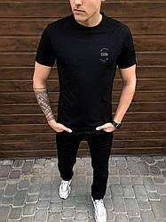 Мужская футболка Peremoga -Karma Pobedov (черная)