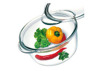 Каструля скляна Simax кругла висока 18.8х10см 1,5 л