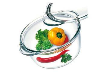 Скляна кастрюля Simax 22,8х12,5 см 2,8 л