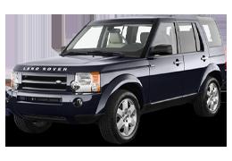 Дефлекторы на боковые стекла (Ветровики) для Land Rover (Лэнд Ровер) Discovery III 2004-2009