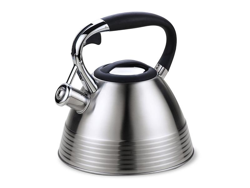 Чайник для плиты из нержавейки Maestro 3л