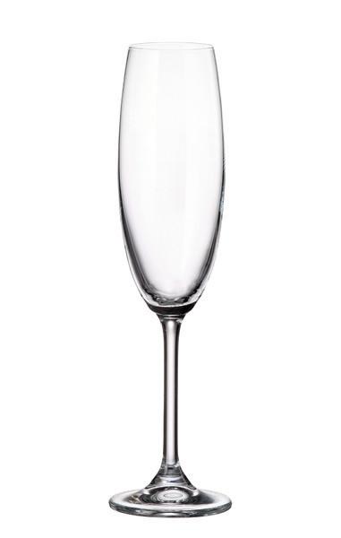Набір келихів для шампанського 220 мл Gastro Colibri Bohemia 4S032/00000/220