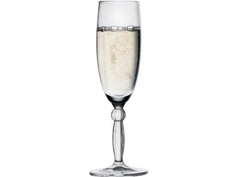Набор бокалов для шампанского Step на 180 мл 6 шт Pasabahce PS-44634