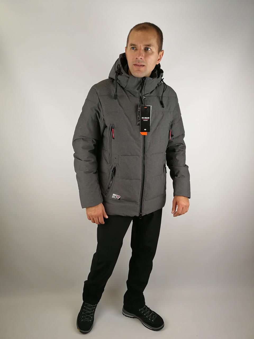 Зимняя мужская куртка классика