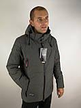 Зимова чоловіча куртка класика, фото 4