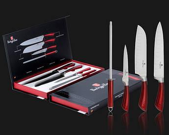 Набор ножей с мусатом без подставки Berlinger Haus 4пр