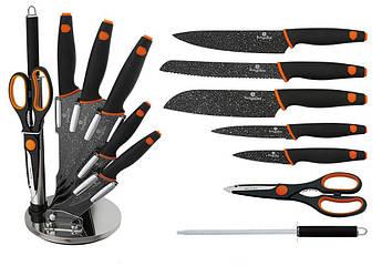 Набор ножей с покрытием Berlinger Haus Granit Diamond Line 8пр