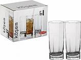 Набор высоких стаканов Pasabahce Kosem 6 шт. 42078, фото 2