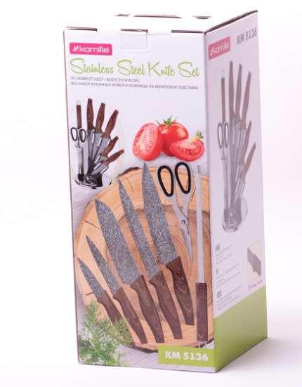 Набор ножей Kamille KM-5136