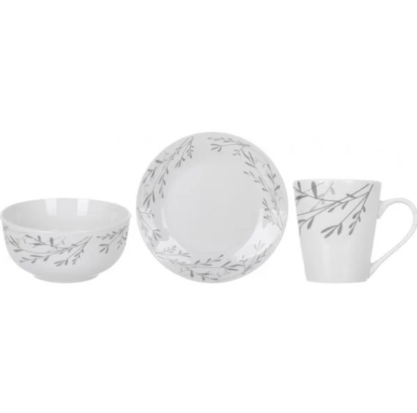 Набор для завтрака Limited Edition Silver Shine DS-0301-A 3 предмета