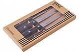 Набір ножів для стейка 4 предмета Basic Bistro Lunasol VZ-105624, фото 2