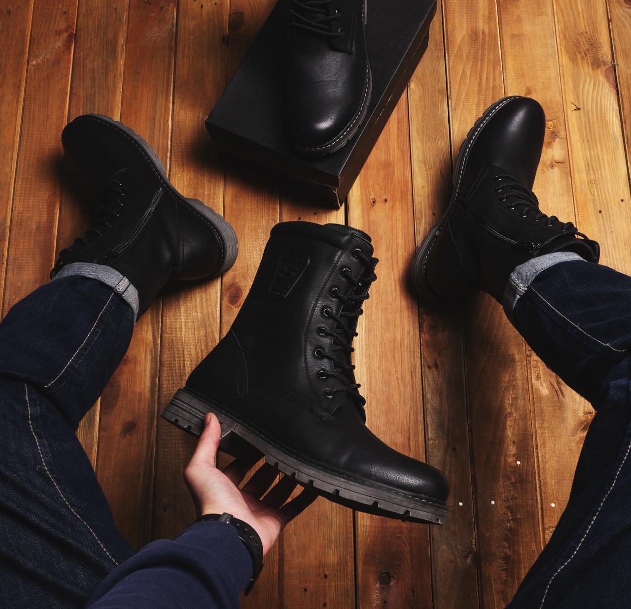 Мужские ботинки Бром 89 Pobedov (черные)