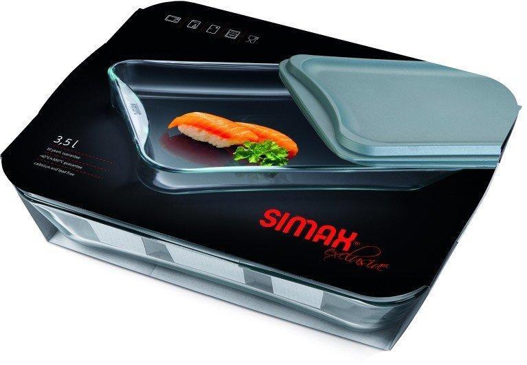 Лоток прямоугольный для запекания Simax Exclusive s7226/L 3.5 л