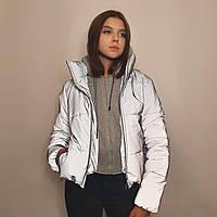 Светоотражающая подростковая куртка р. с 38 по 48 модель