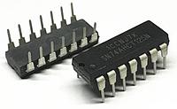Микросхема SN74AHCT125N DIP-14, фото 1