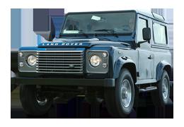 Дефлекторы на боковые стекла (Ветровики) для Land Rover (Лэнд Ровер) Defender 90 1990-2007