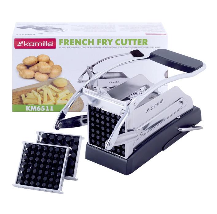 Машинка для нарізки картоплі фрі соломкою Kamille KM-6511
