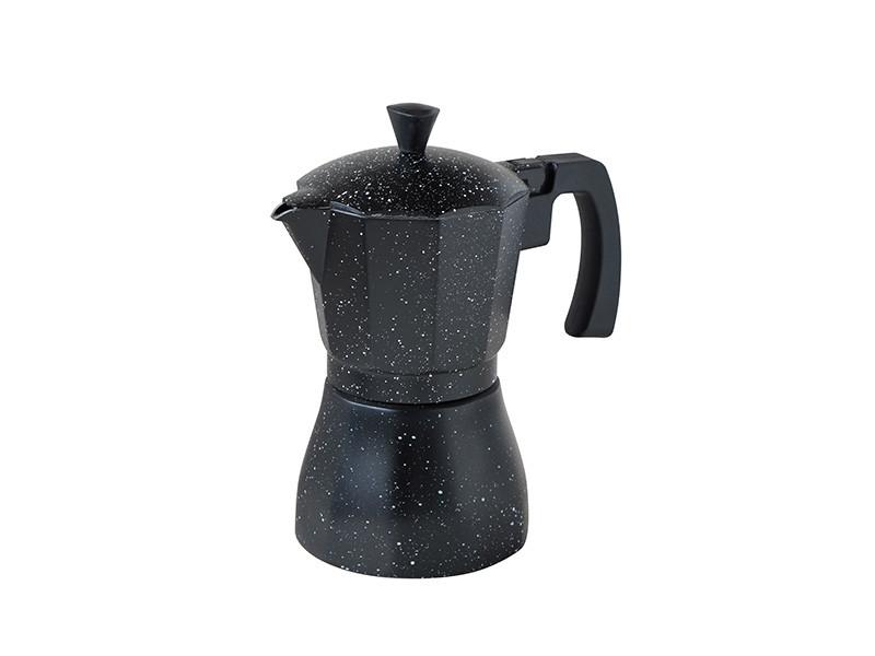 Гейзерна кавоварка для індукції Con Brio 450мл