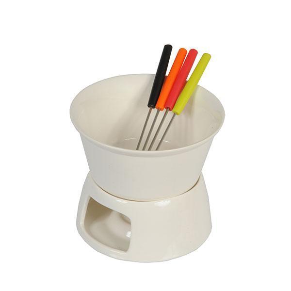 Набор для фондю керамический 6 предметов Edco Lima NB-98175