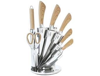Набір ножів з ручками під дерево Bohmann 8пр
