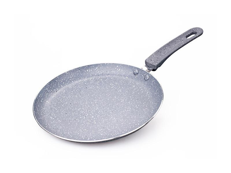 Сковорода млинна з антипригарним покриттям Con Brio Eco Granite 240мм 1.8 см