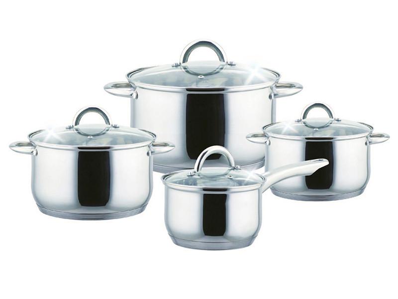 Набір посуду з нержавіючої сталі Bohmann 8пр