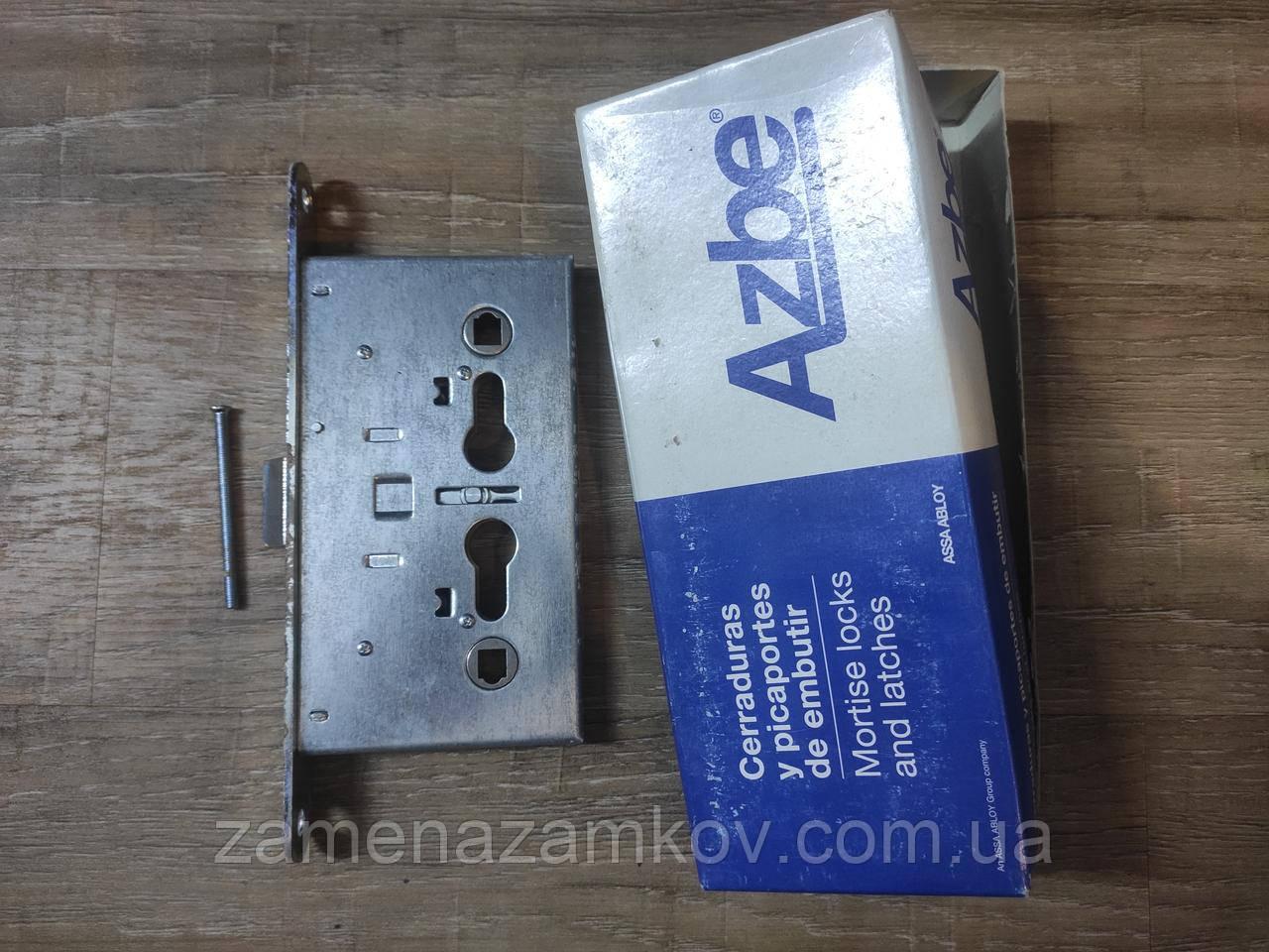 Акция! Замок + ручки Azbe S Mg Mod 485-72 комплект для дверей пожарных металлических или деревянных