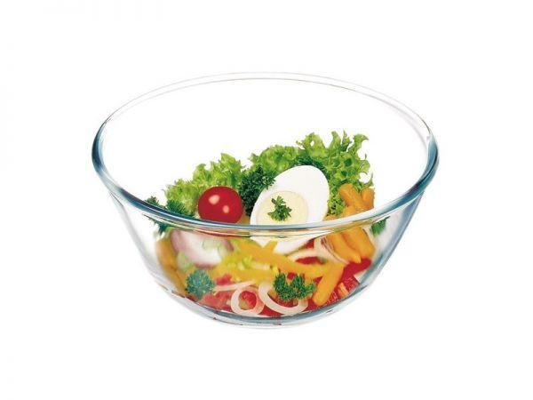 Стеклянный салатник Simax Чехия 170мм 900мл