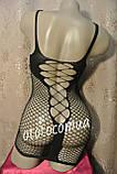 Сексуальное белье пеньюар-сетка сексуальное белье эротическое белье, фото 7
